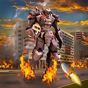 Robot Earth War Transformation