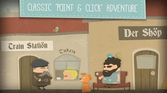 Enigma: Super Spy - Point & Click Adventure Game Screenshot
