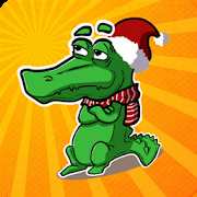 Crocodile game for party. words generator
