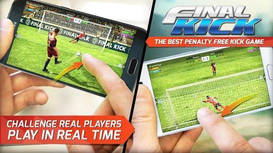 Final kick 2019: Best Online football penalty game Screenshot
