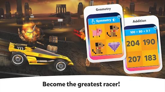 Cool Math Games: Race Cars  For Kids BoysGirls Screenshot