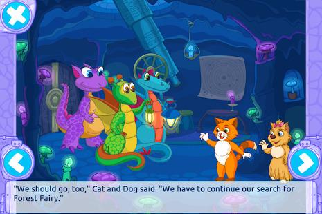 Cat & Dog Story Adventure Games Screenshot