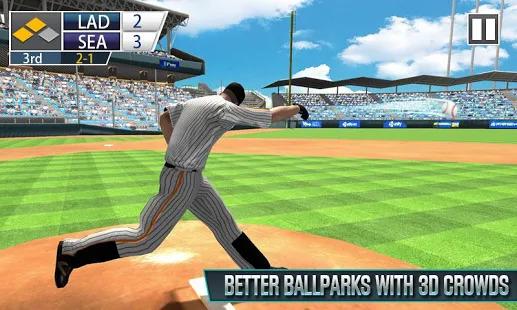 Real Baseball Battle 3D - baseball games for free Screenshot