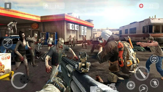Zombie Critical Army Strike : Attack Games 2019 Screenshot