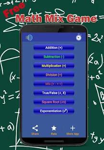 Math Mix Games - Free cool math games Screenshot