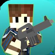 Blocky War: Cube City Survival