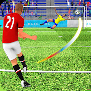 Flick Football Strike: FreeKick Soccer Games