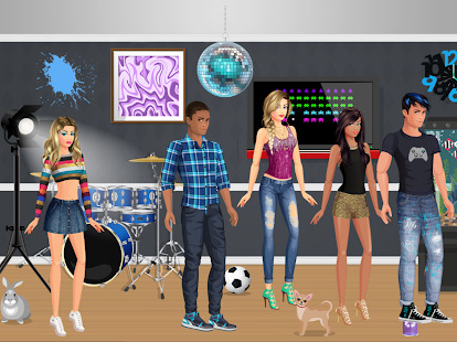 DRESS UP STAR  Cool Fun Makeup Games for Girls Screenshot