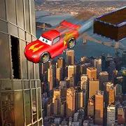 Superheroes Car : Universal Sky Scraper Tracks