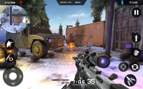 Winter Mountain Sniper - Modern Shooter Combat Screenshot