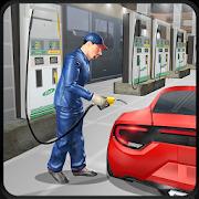 Gas Station Car Mechanic