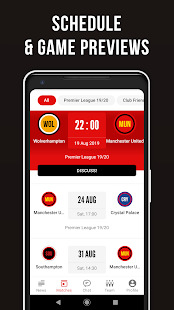 Manchester Live  Unofficial app for United Fans Screenshot