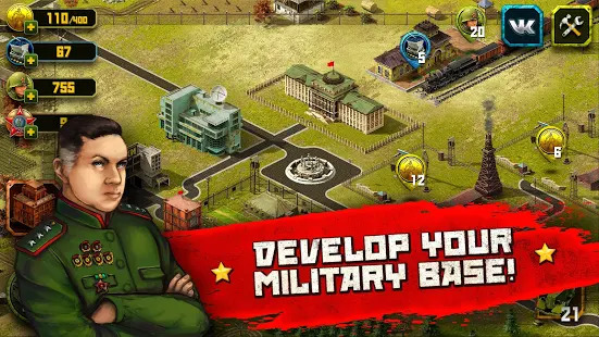Second World War: real time strategy game! Screenshot