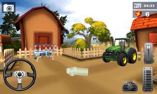 Farm Tractor Simulator Agri Land : Tractor Driver Screenshot