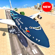 Take off Airplane Pilot Race Flight Simulator