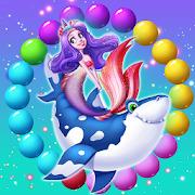 Mermaid Rescue Fish Pop Shooter