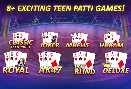 Teen Patti Gold - 3 Patti Rummy Poker Card Game Screenshot