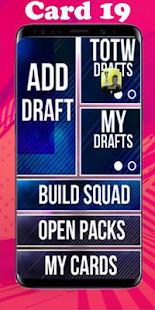 FUT 19 Draft creator : Simulator Seasons Screenshot