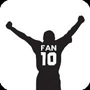 Fan 10 - Soccer football