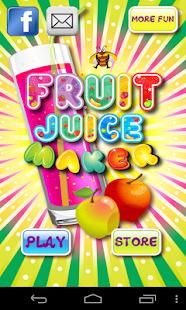 Fruit Juice Maker Screenshot