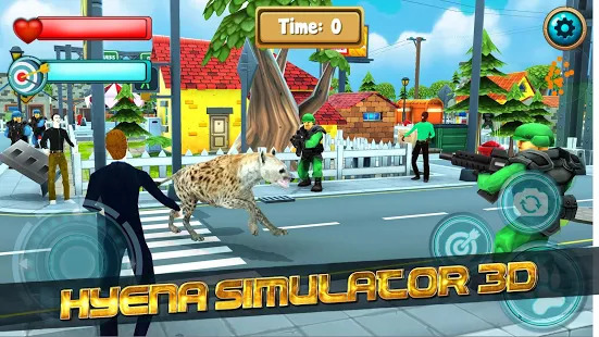 Wild Hyena Simulator: 3D Jurasic Park Adventure Screenshot