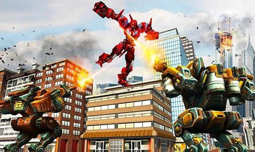 Robot Car War Transform Fight Screenshot