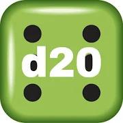 Virtual Dice D20