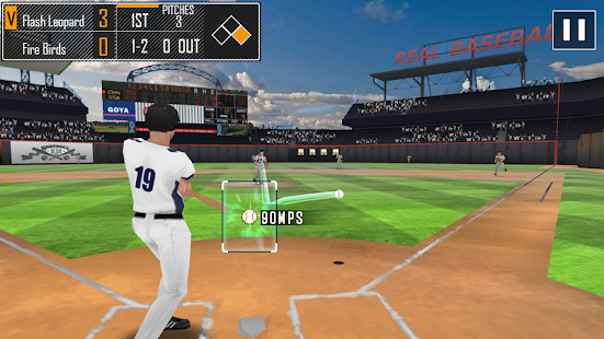 Real Baseball 3D Screenshot