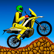 Dirt Bike Stunt Race Free 2D Adventure