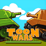 Toon Wars: Free Multiplayer Tank Shooting Games