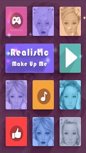 Realistic MakeUp Me Screenshot