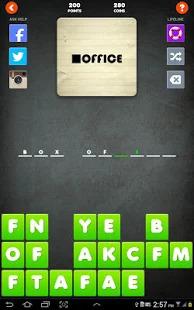 Wuzzles Rebus - Missing Letters Puzzle & Quiz Screenshot