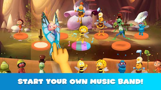 Maya The Bee: Music Band Academy for Kids Screenshot
