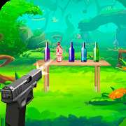 Real Bottle Shooter Game 3D