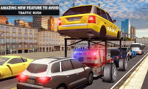 Rush Hour Taxi Cab Driver: NY City Cab Taxi Game Screenshot