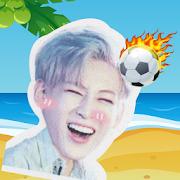 GOT7 Beach Ball : Cute Star Puppet Soccer Big Head