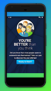 QuizFie! Know Yourself Personality Super Fun Quiz Screenshot