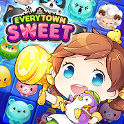 Everytown Sweet: Match 3 Puzzle