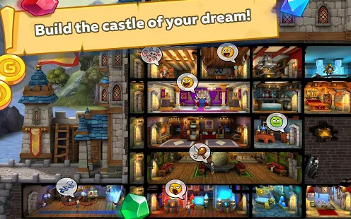 Hustle Castle: Medieval life RPG. Fantasy Kingdom Screenshot