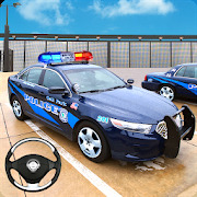 Police Car Parking Mania 3D Simulation