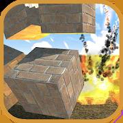 Block destruction simulator: cube rocket explosion
