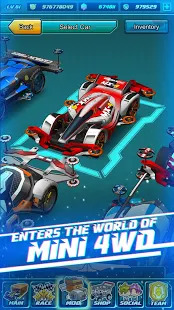 Mini Legend - Mini 4WD Simulation Racing Game Screenshot