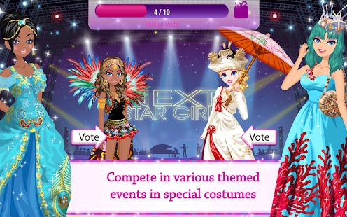 Star Girl - Fashion Makeup & Dress Up Screenshot
