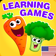 Funny Food educational games for kids toddlers