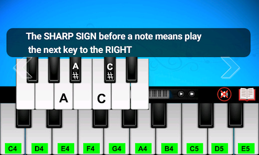 Real Piano Teacher Screenshot