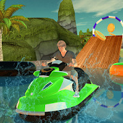 Fearless Water Surfing Jet Ski Boat Racing 2019