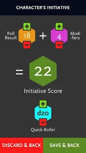 ProD&D Initiative Tracker Screenshot