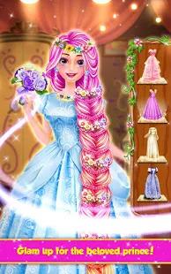 Long Hair Princess Hair Salon Screenshot