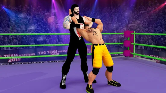 Tag team wrestling 2020: Cage death fighting Stars Screenshot