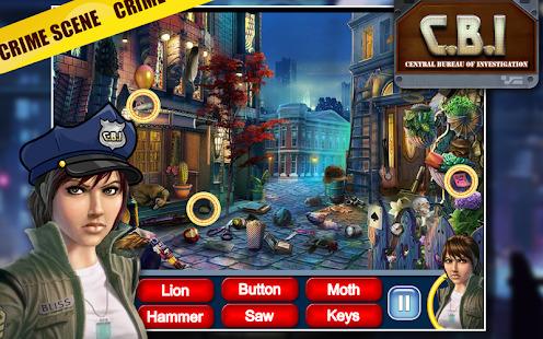 Hidden Object Games : Criminal Case CBI Screenshot
